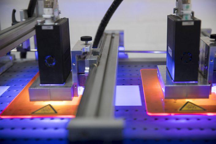 Adressiermaschine mit UV-Trocknung