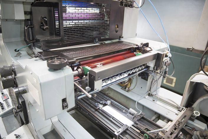Druckmaschine für Offsetdruck