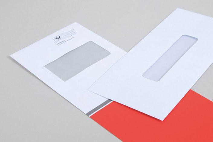 Bedruckte Briefhüllen in besonderen Formaten