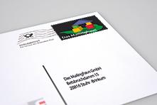 Dialogpostkarte adressiert und frankiert