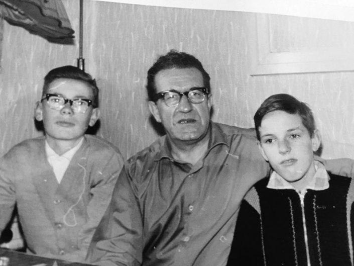 Otto Theobald Senior, Reiner Theobald und Otto Theobald Junior