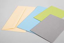 Aufgefächerte Umschläge Paperado