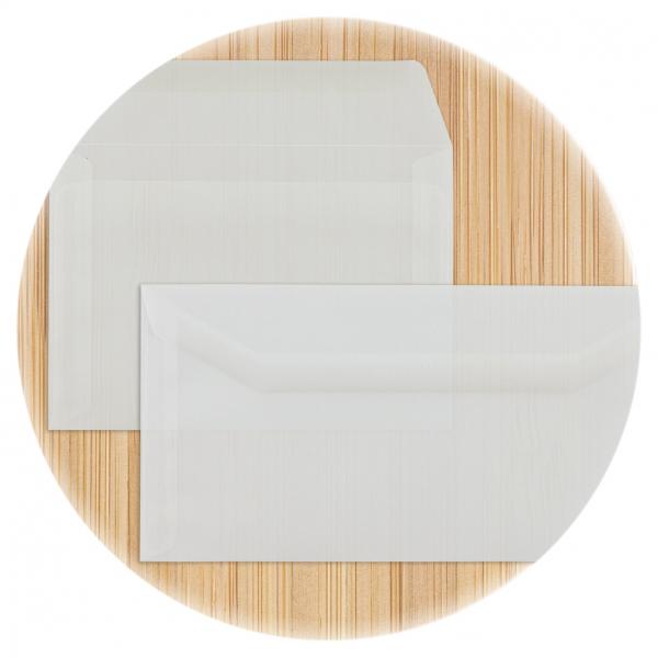 Kuvertierhüllen Transparent