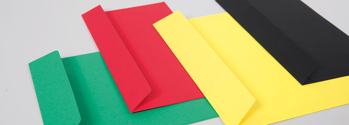 Farbige Briefhüllen Creative Colour
