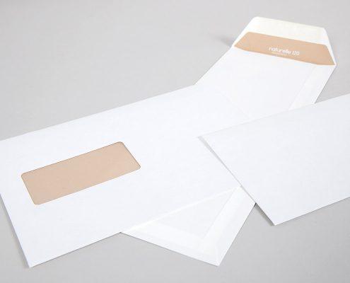 Naturelle Briefhüllen