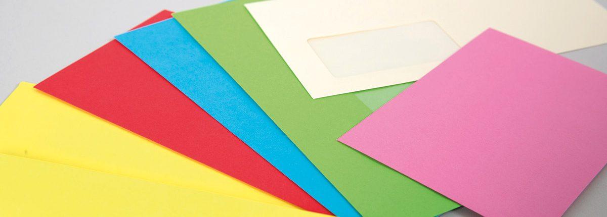 Farbige Briefhüllen Elco Color