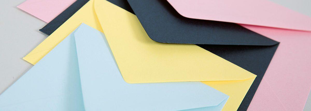 Farbige Briefhüllen OT-Creativ