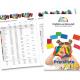 Katalog mit bunten Briefumschlägen