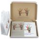 Vierfarbig bedruckte Kartontaschen