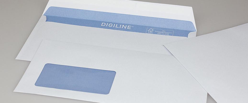 Digiline - Lasergeeignete Briefhüllen