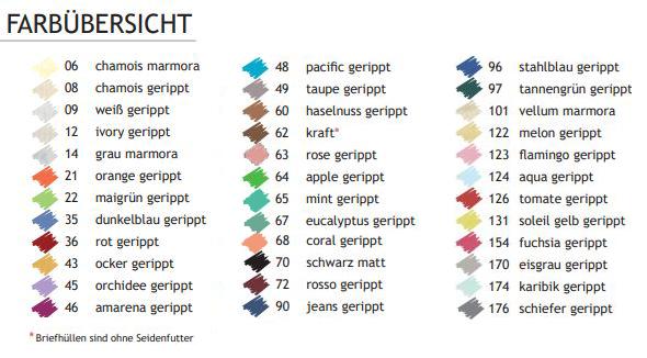 Banner Paperado Standardfarben