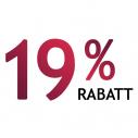 19% Rabatt