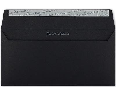 Schwarze Briefhüllen