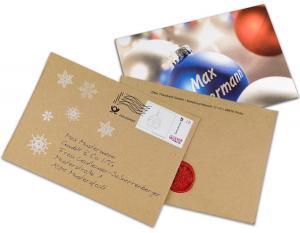 Briefhüllen mit Personalisierung