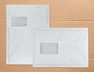 Luftpolstertaschen mit Fenster