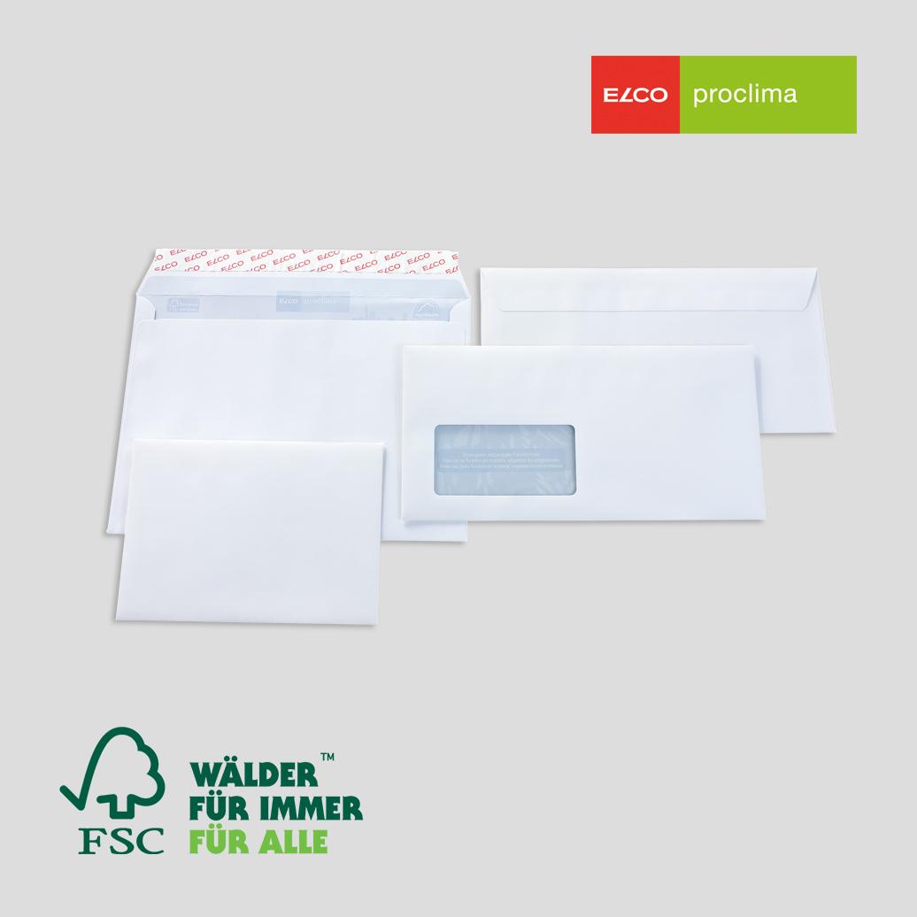 FSC-Briefhüllen Elco Proclima