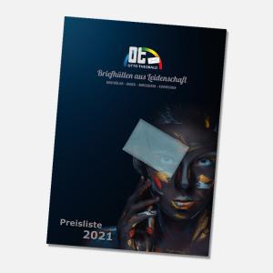 Vorschaubild Preisliste 2021